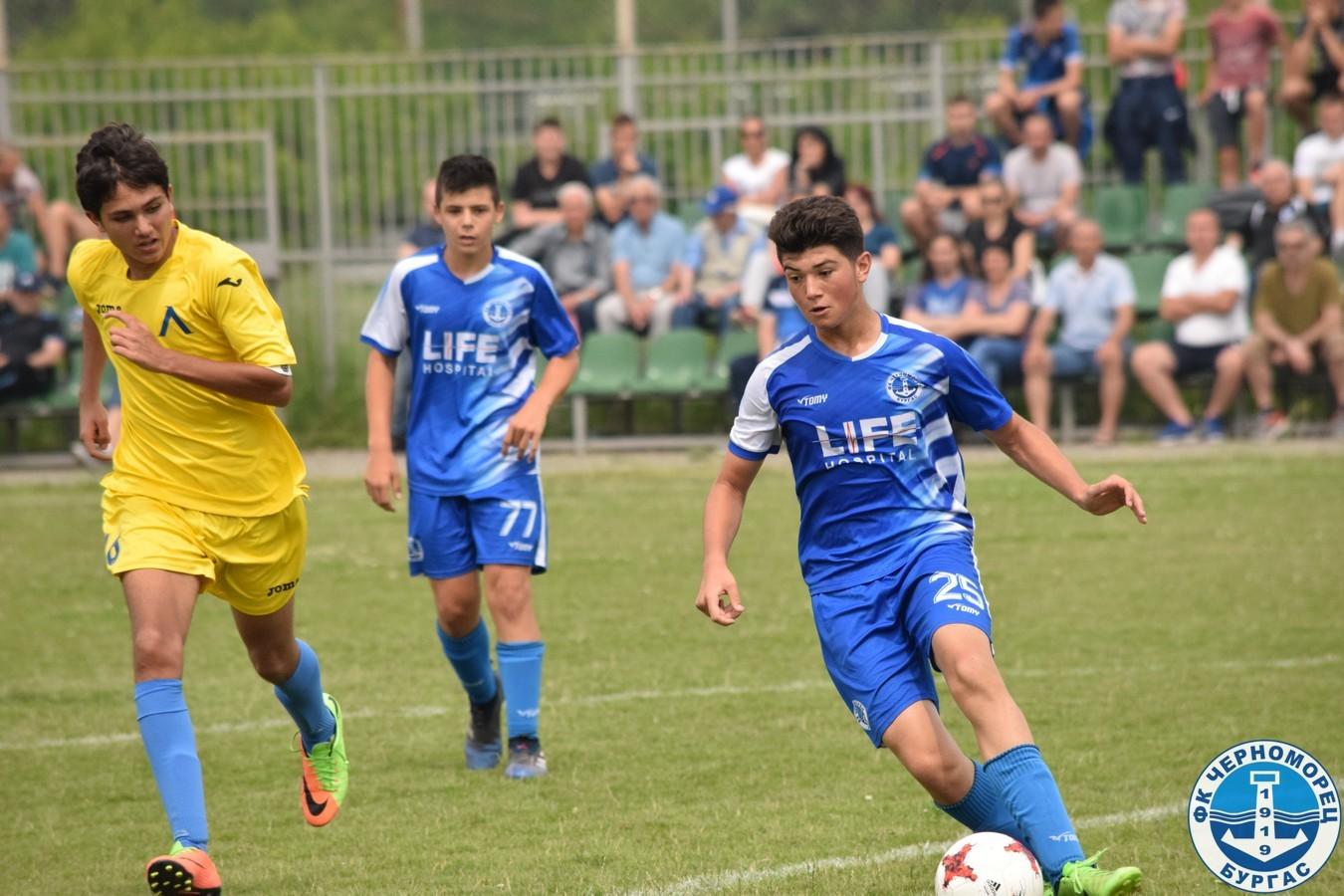 Черноморец – Левски-Раковски 0:0 (U15)