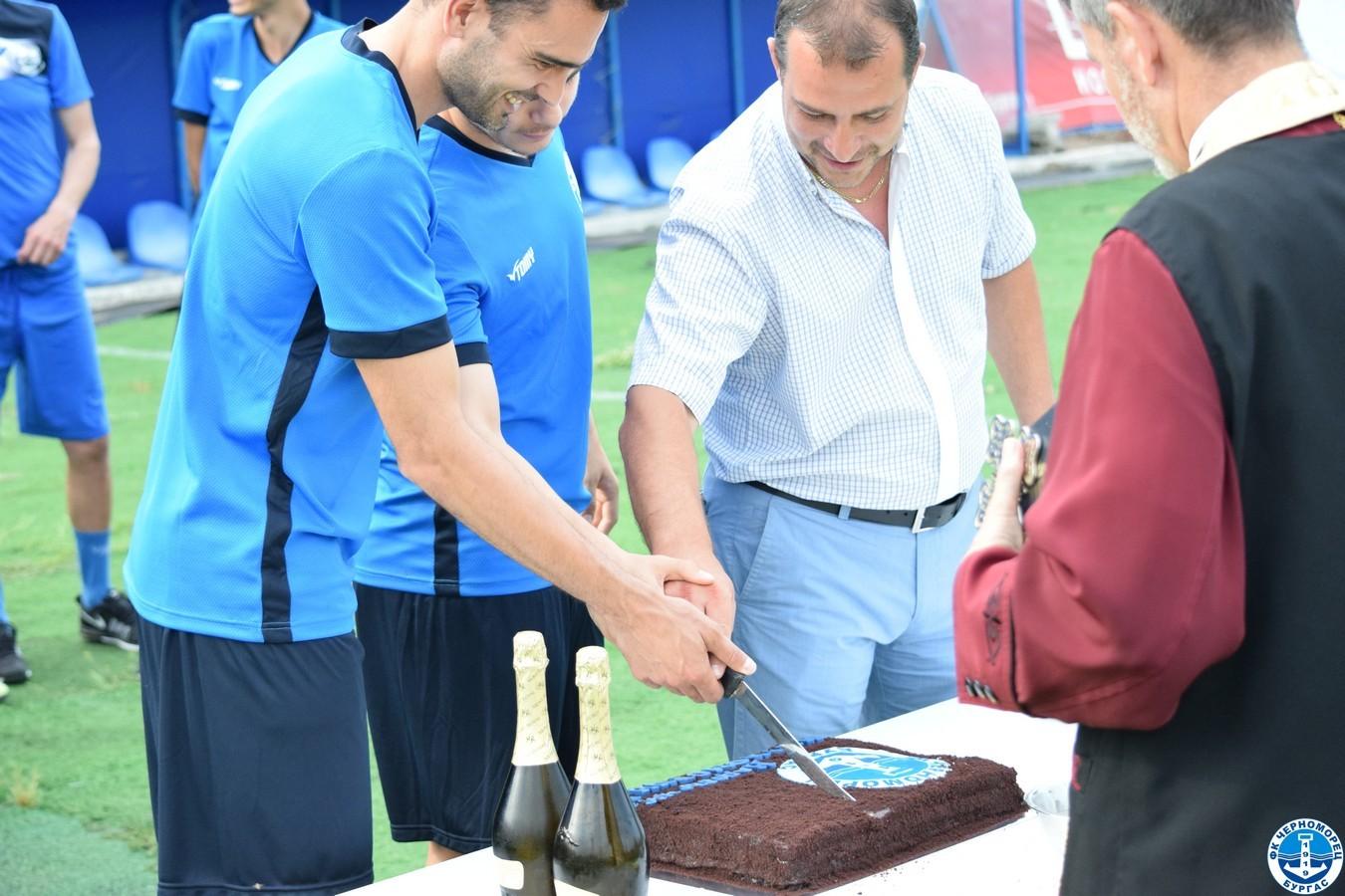 Черноморец проведе първа тренировка за новия сезон